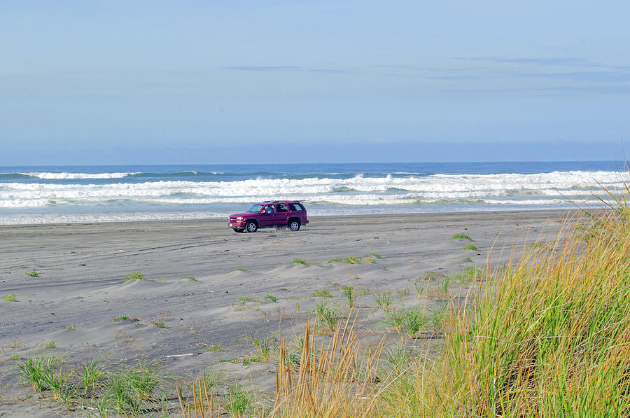 Driving on the Beach by Tikvah's Hope