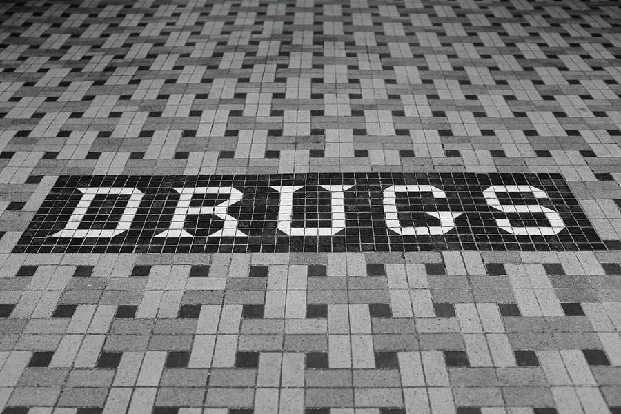 Drugs Photograph - Drug Store by Robin Mayoff
