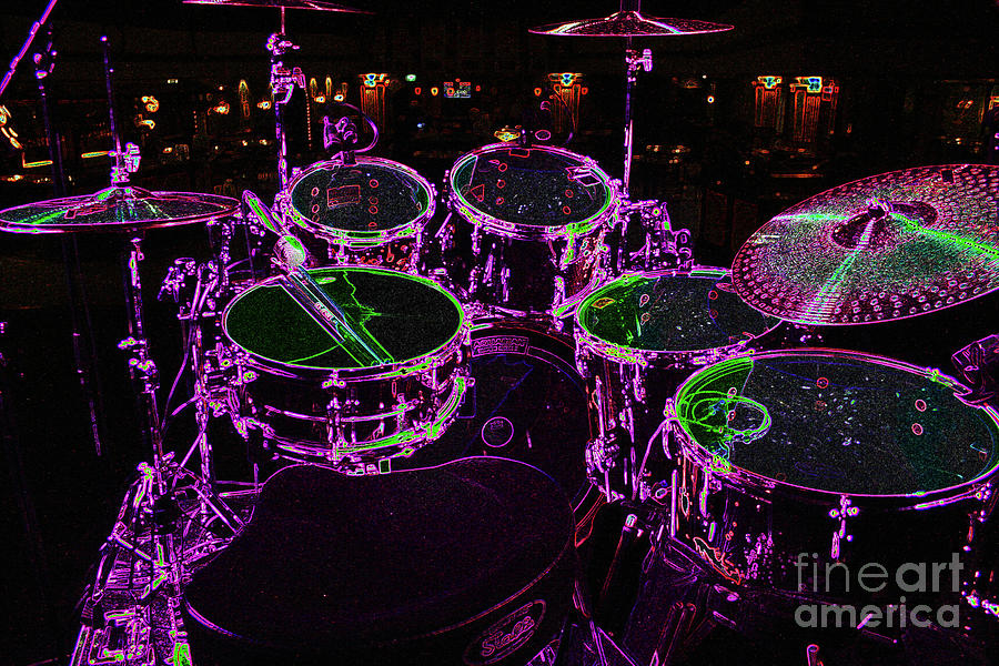 Drums Photograph - Drums by Alan Harman