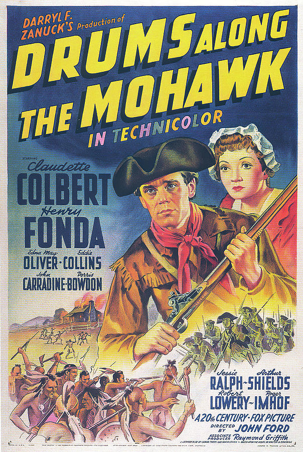 drums Along The Moohawk, 1939 Mixed Media