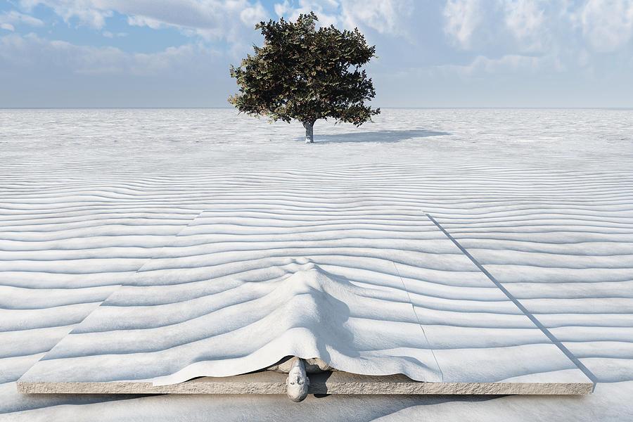 Dream Digital Art - Dry by Oscar Vago