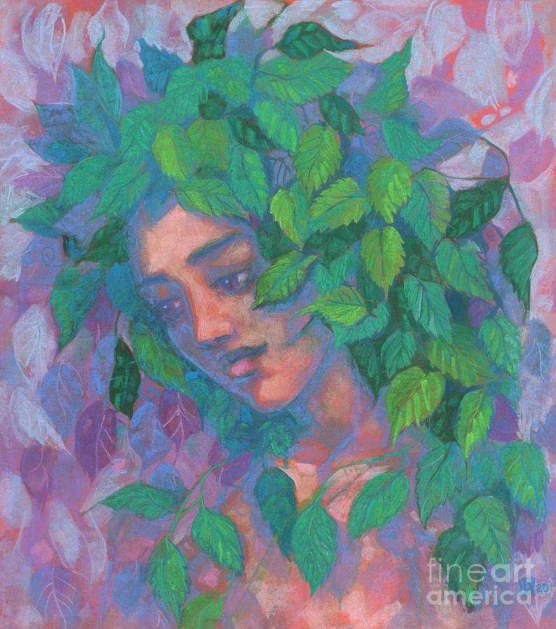 Soft Pastel Pastel - Dryad by Julia Khoroshikh