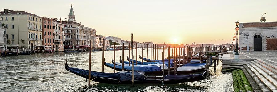 Dsc00323 - Sunrise at Punta della Dogana, Venice by Marco Missiaja