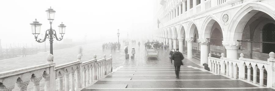 Dsc0092 - People in the fog, Venice by Marco Missiaja