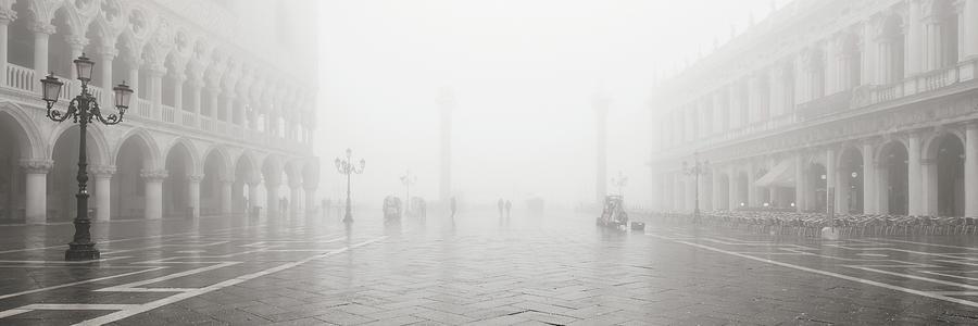 Dsc19 - Fog on St. Mark's Square, Venice by Marco Missiaja