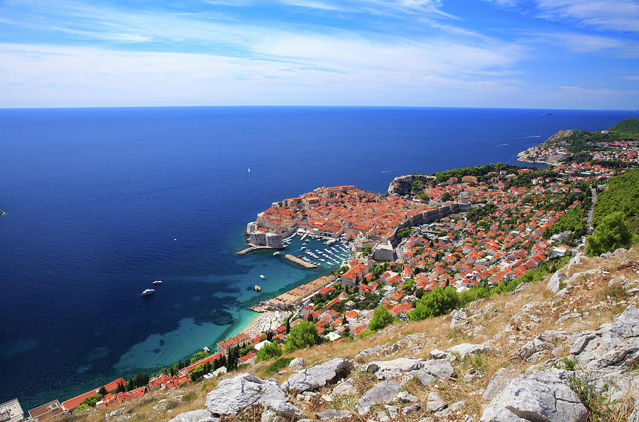 Dubrovnik From Above Photograph