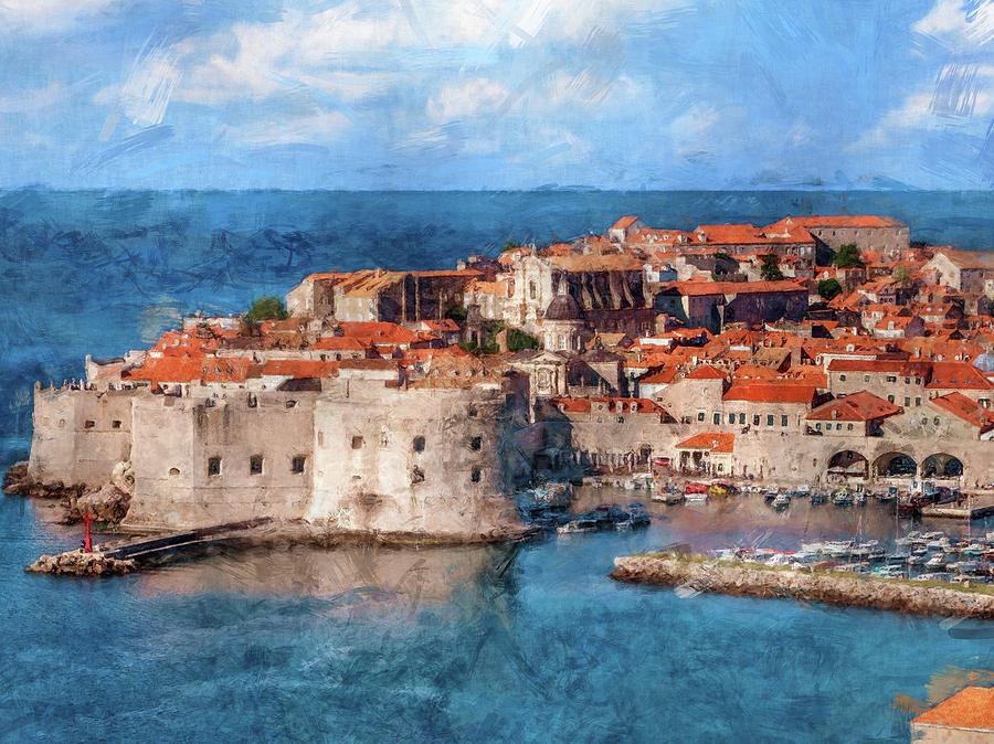 Dubrovnik Old Town by Flo Karp