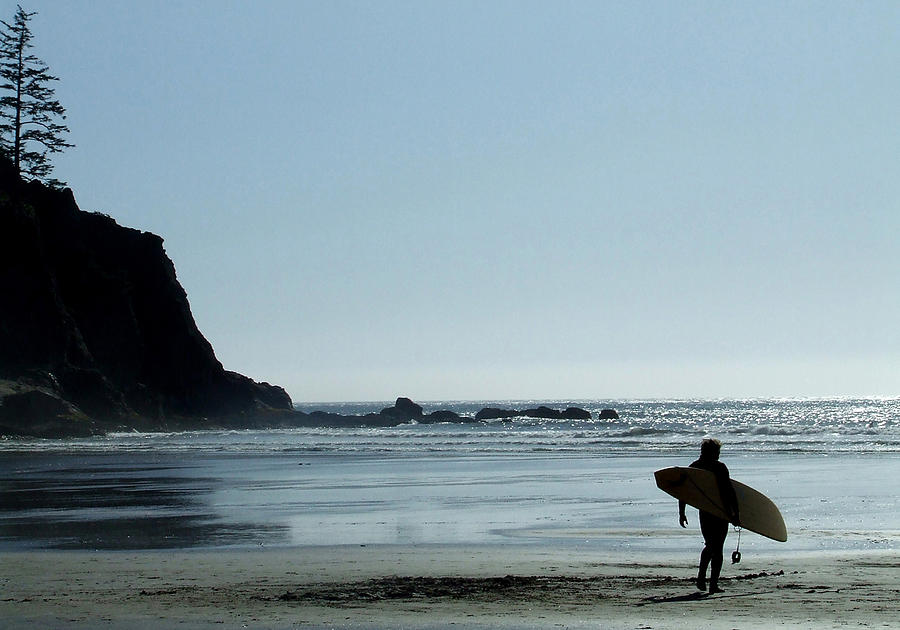 Surf Photograph - Dude by Everett Bowers