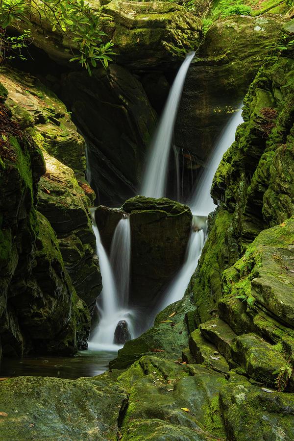 Blue Ridge Mountains Photograph - Duggars Creek Falls 1 by Melissa Southern
