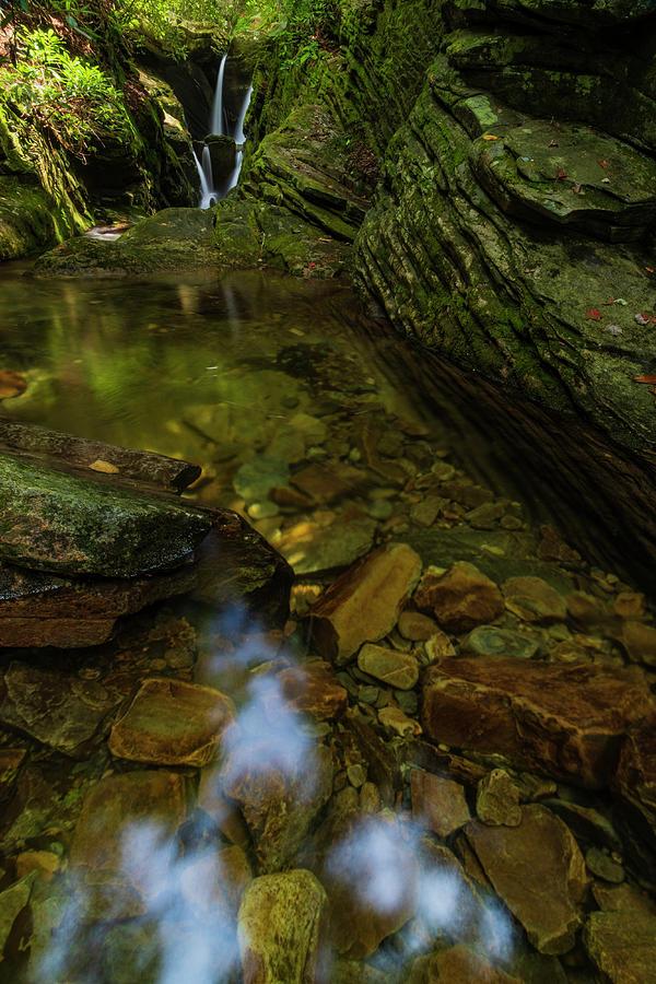 Blue Ridge Mountains Photograph - Duggars Creek Falls 2 by Melissa Southern