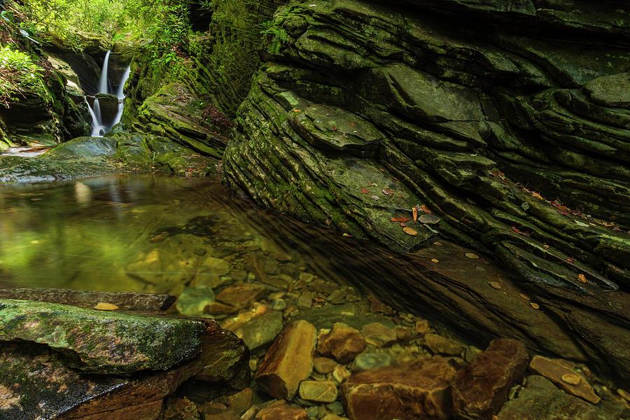 Blue Ridge Mountains Photograph - Duggars Creek Falls 3 by Melissa Southern