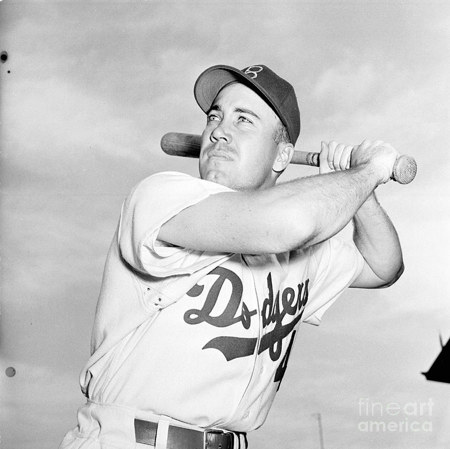 Duke Snider Photograph by Kidwiler Collection