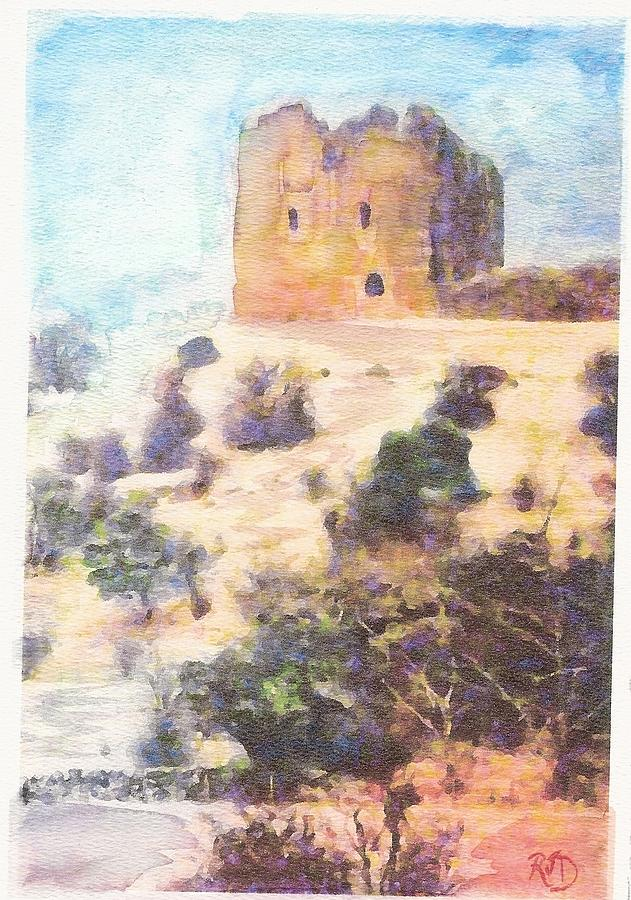 Dundonald Castle Painting