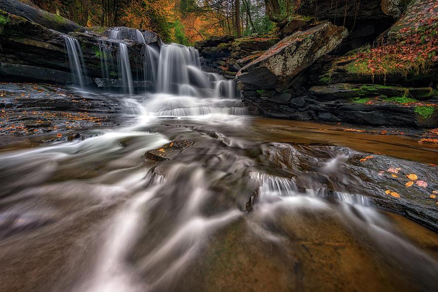Dunloup Creek, West Virginia by Rick Berk