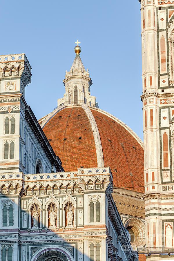Duomo Closeup - Florence Tuscany Italy Photograph