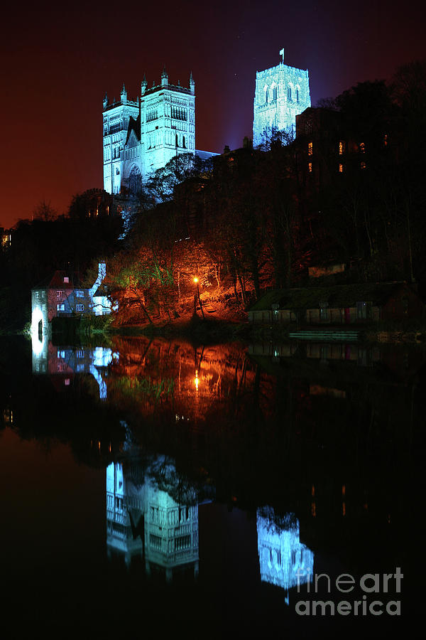 Durham Cathedral Lumiere by Bryan Attewell