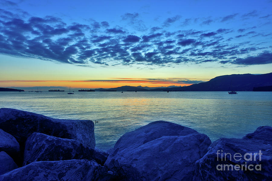 Dusk On The Water Photograph