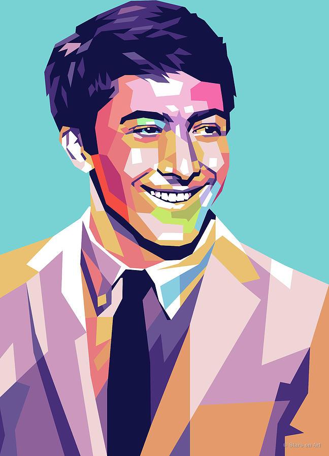 Dustin Hoffman 2 Digital Art
