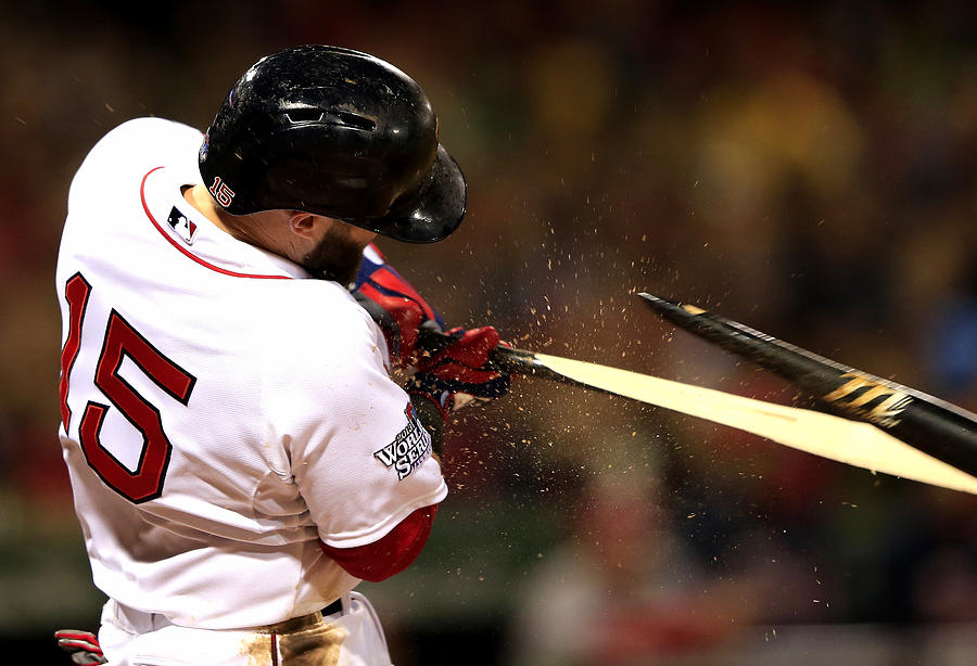 Dustin Pedroia Photograph by Jamie Squire
