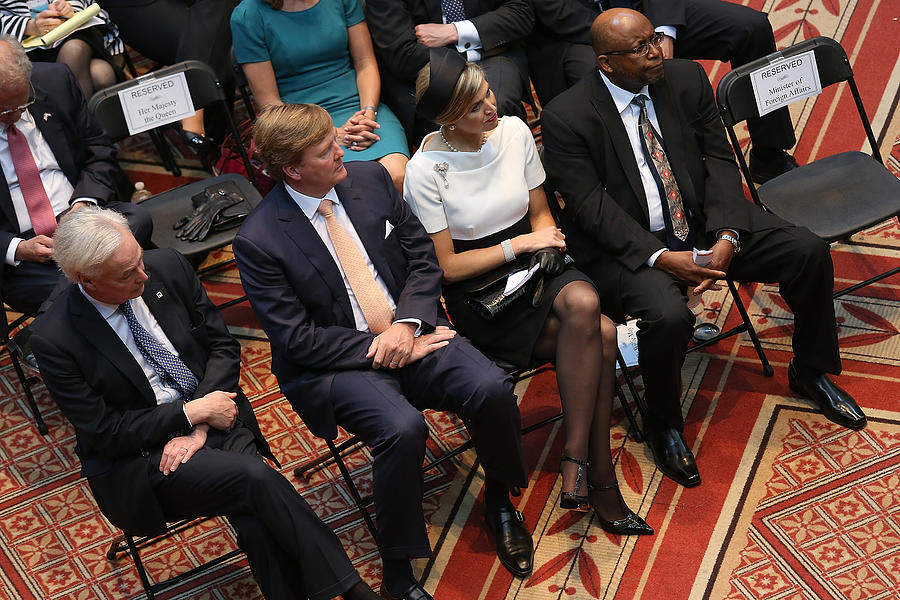 Dutch King And Queen Visit Washington, Attend Global City Team Challenge Event Photograph by Win McNamee