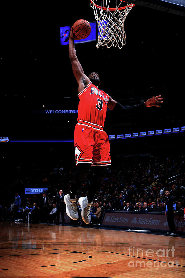 Dwyane Wade Photograph by Bart Young