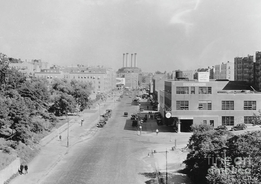 Dyckman Street, 1936 by Cole Thompson