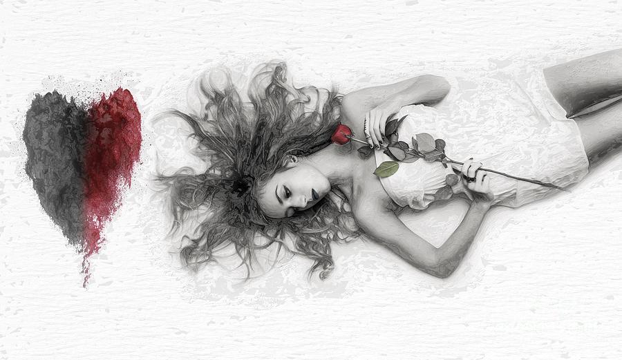 Dying... Digital Art