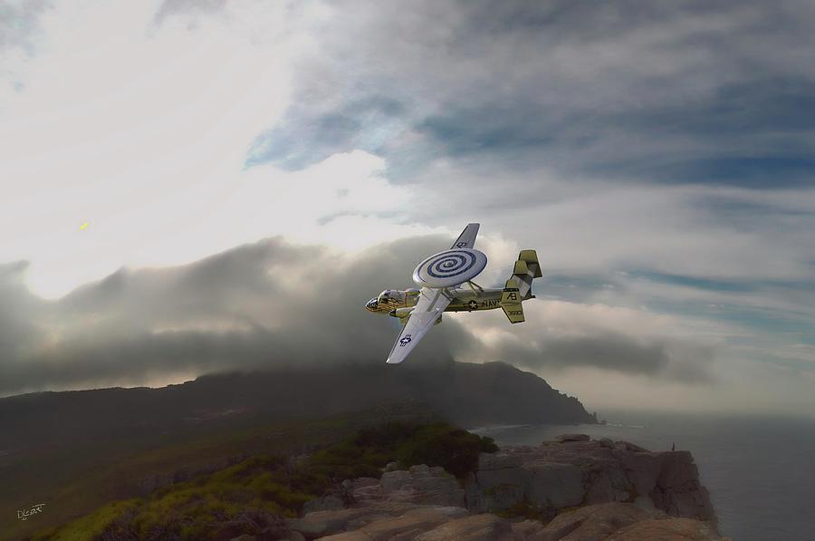 E-2c Hawkeye Plus Digital Art