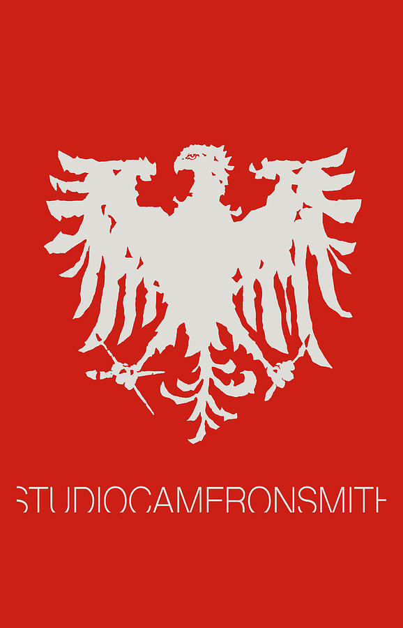 Eagle Logo, red by Cameron Smith