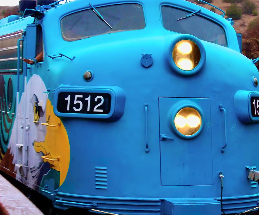 Eagle On The Train Photograph