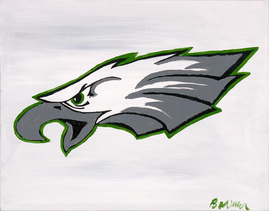 Eagles Painting - Eagles Painting by Britt Miller