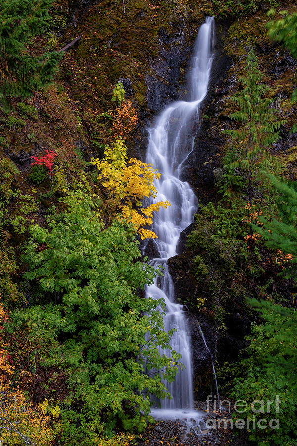 Early Autumn Falls by Mike Dawson
