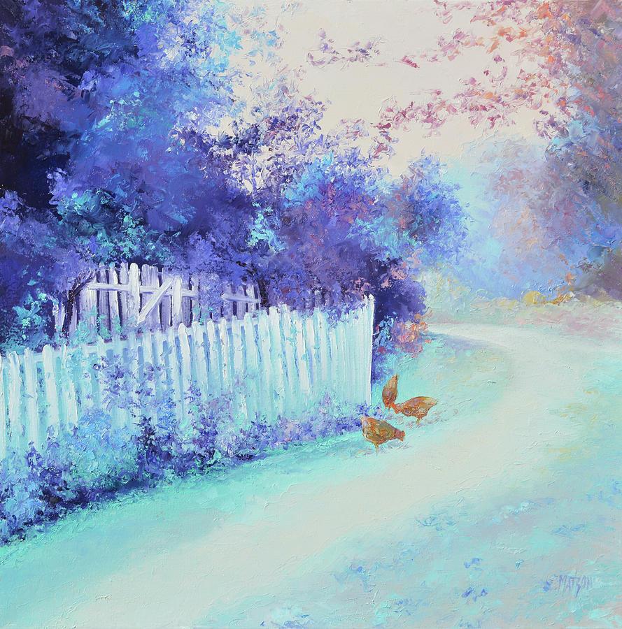 Early Autumn Light Painting
