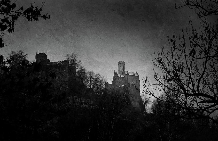Early Evening At Schloss Lichtenstein Photograph
