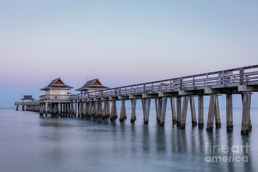 Early Morning At The Pier - Naples Florida Photograph