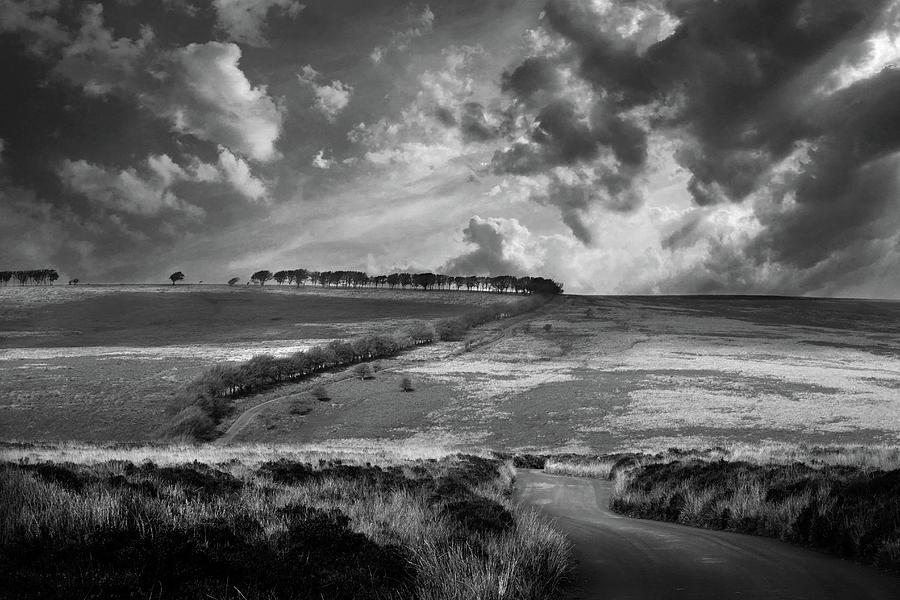 Early Morning Walk Over Exmoor Photograph