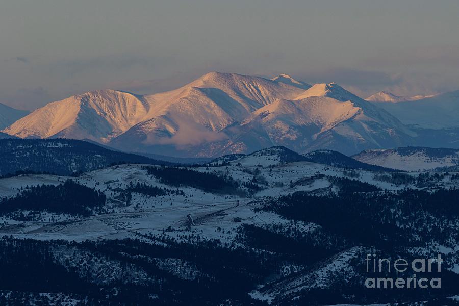 Early Sunrise On Galena Peak Photograph