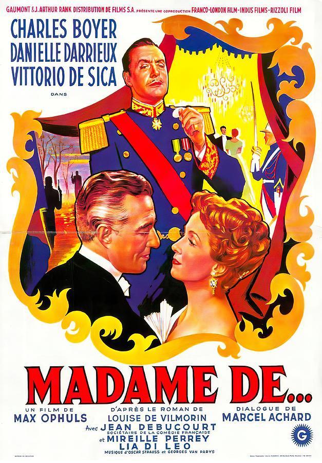 earrings Of Madame De - 1953 Mixed Media