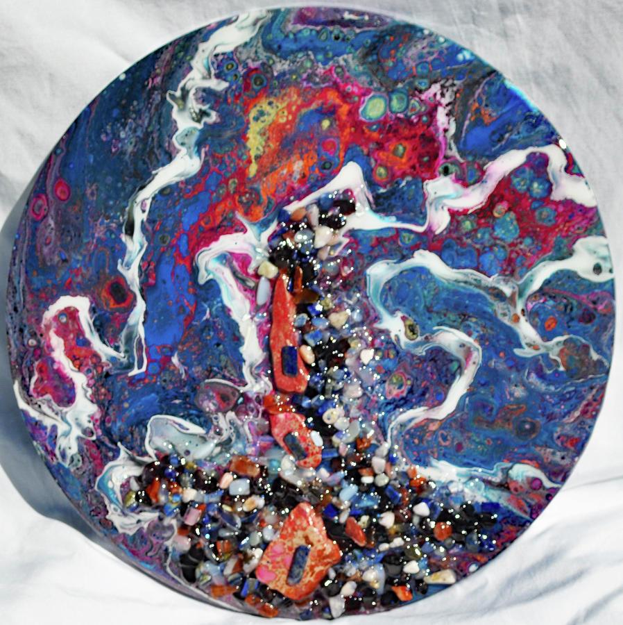 Earth Gems #19W157 by Lori Sutherland