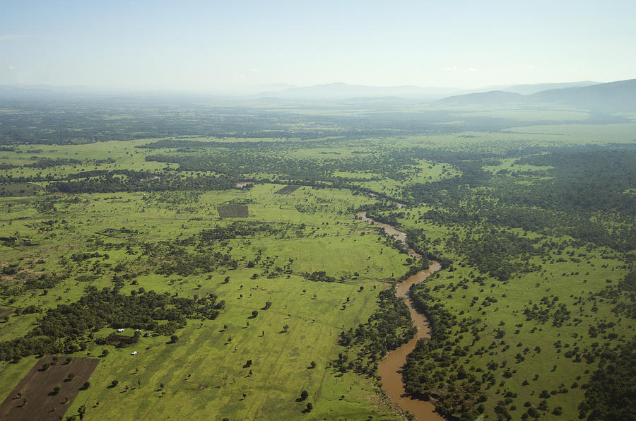 East Africa landscape Photograph by WLDavies