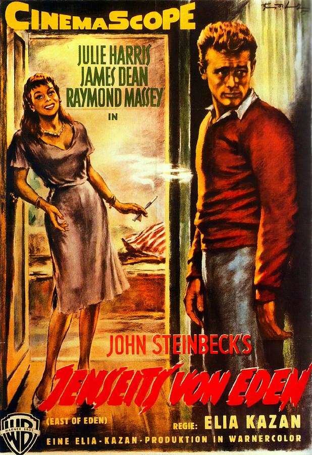 east Of Eden - 1955 Mixed Media