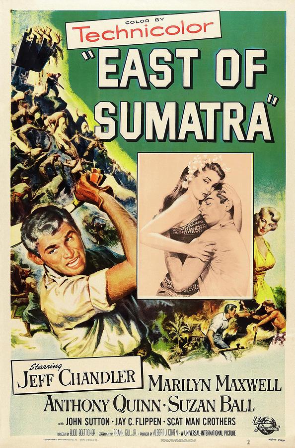 east Of Sumatra - 1953 Mixed Media