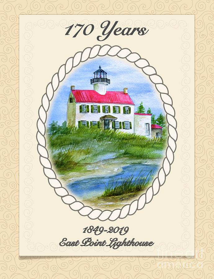 East Point Lighthouse - 1849-2019 by Nancy Patterson