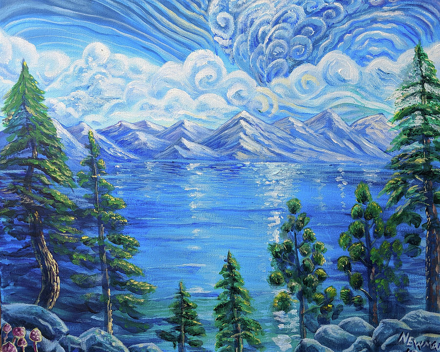 East Shore Painting - East Shore Daydream by Craig Newman