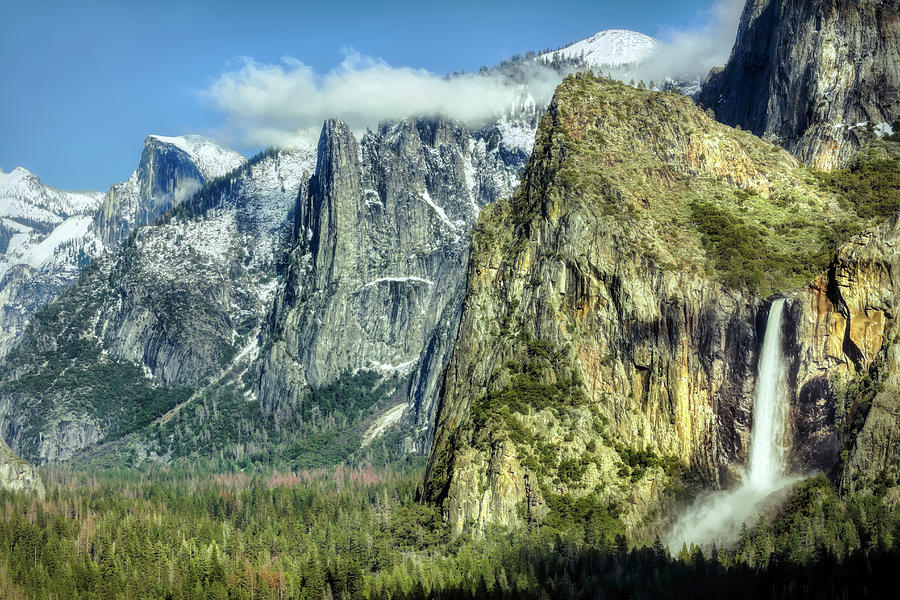 East Side Of Yosemite Valley Photograph