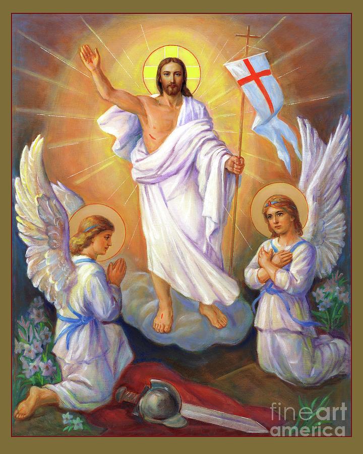 The Resurrection Of Christ Painting - Easter Sunday by Svitozar Nenyuk