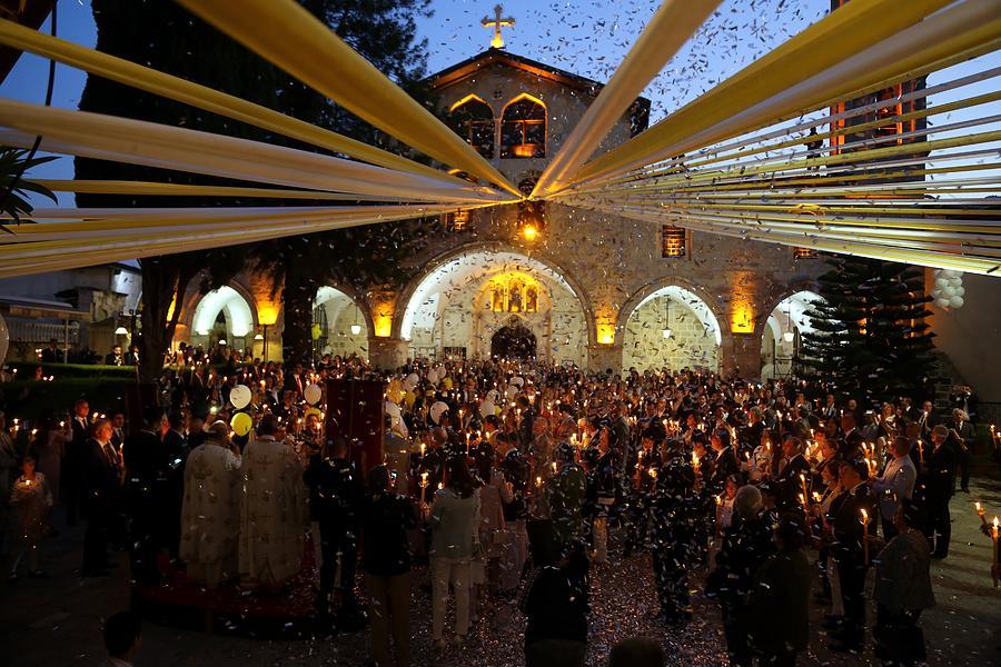 Easter Vigil in Turkeys Hatay Photograph by Anadolu Agency