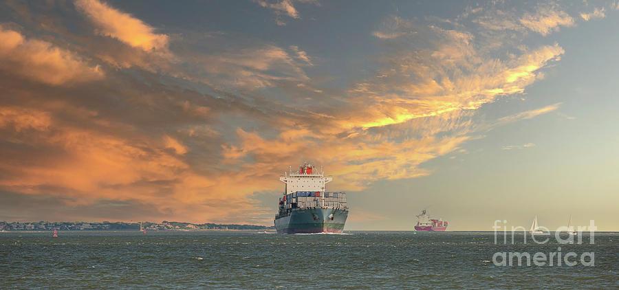 Eastern Seaboard Maritime Vessel Photograph