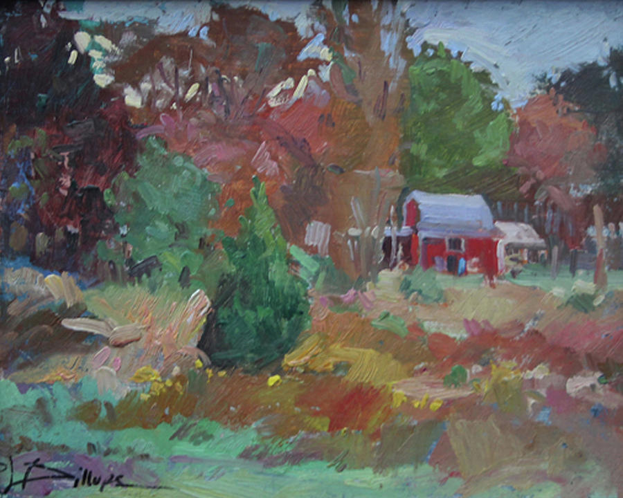Impressionism Painting - Eastern Shore Hideaway  by Betty Jean Billups