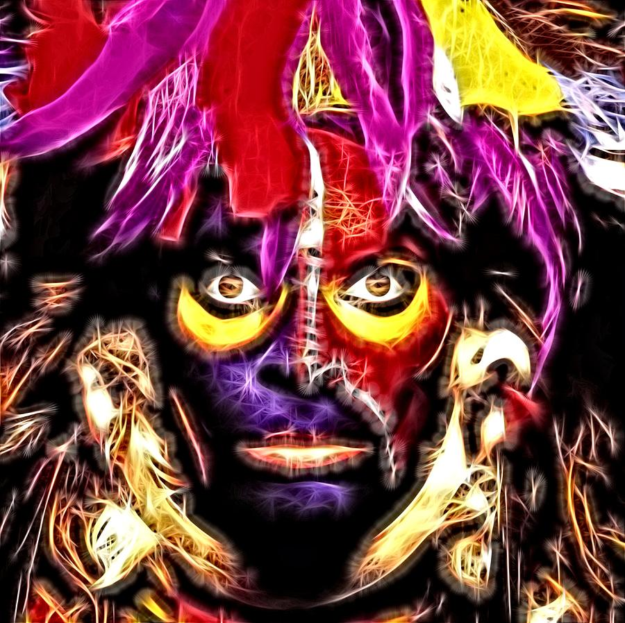 Eat M And Smile David Lee Roth Digital Art By Fred Larucci